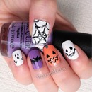 Halloween Friends Nails