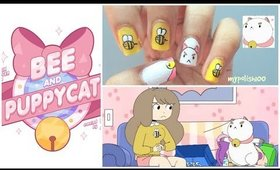Bee And Puppycat nails!!