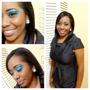 Makeup for my client's Staff Dinner & Awards...