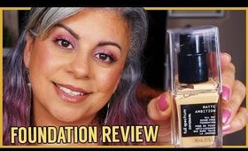 Covergirl Full Spectrum Matte Ambition All Day Foundation Wear Test