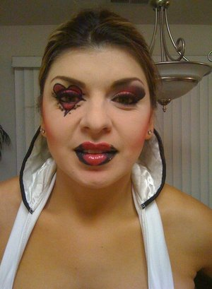 trial i did for halloween