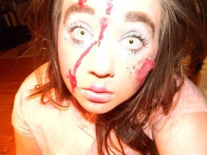 It was a Halloween makeup cover