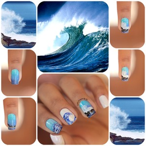 http://www.estilopropriobysir.com/2015/01/mar-nas-unhas-sea-nails.html https://www.facebook.com/EstiloProprioBySir http://instagram.com/sicaramos