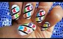 Rainbow Hearts | Nail art tutorial