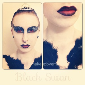 My Black Swan inspired look. I'm actually proud of this.