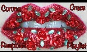 Roses are Red Lip Art Tutorial ReUpload