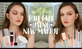 Trying New Makeup! : Full Face of First Impressions ~ Fenty, Dior, Cover Fx, & More!!!