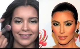 Kim Kardashian Makeup Tutorial- Spring/Summer Trends