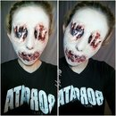 Skinned Face Makeup