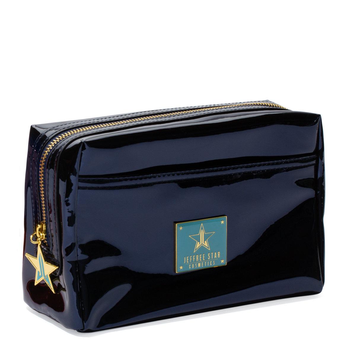 ecd01300cb477e Jeffree Star Cosmetics Makeup Bag Reflective Dark Blue product smear.