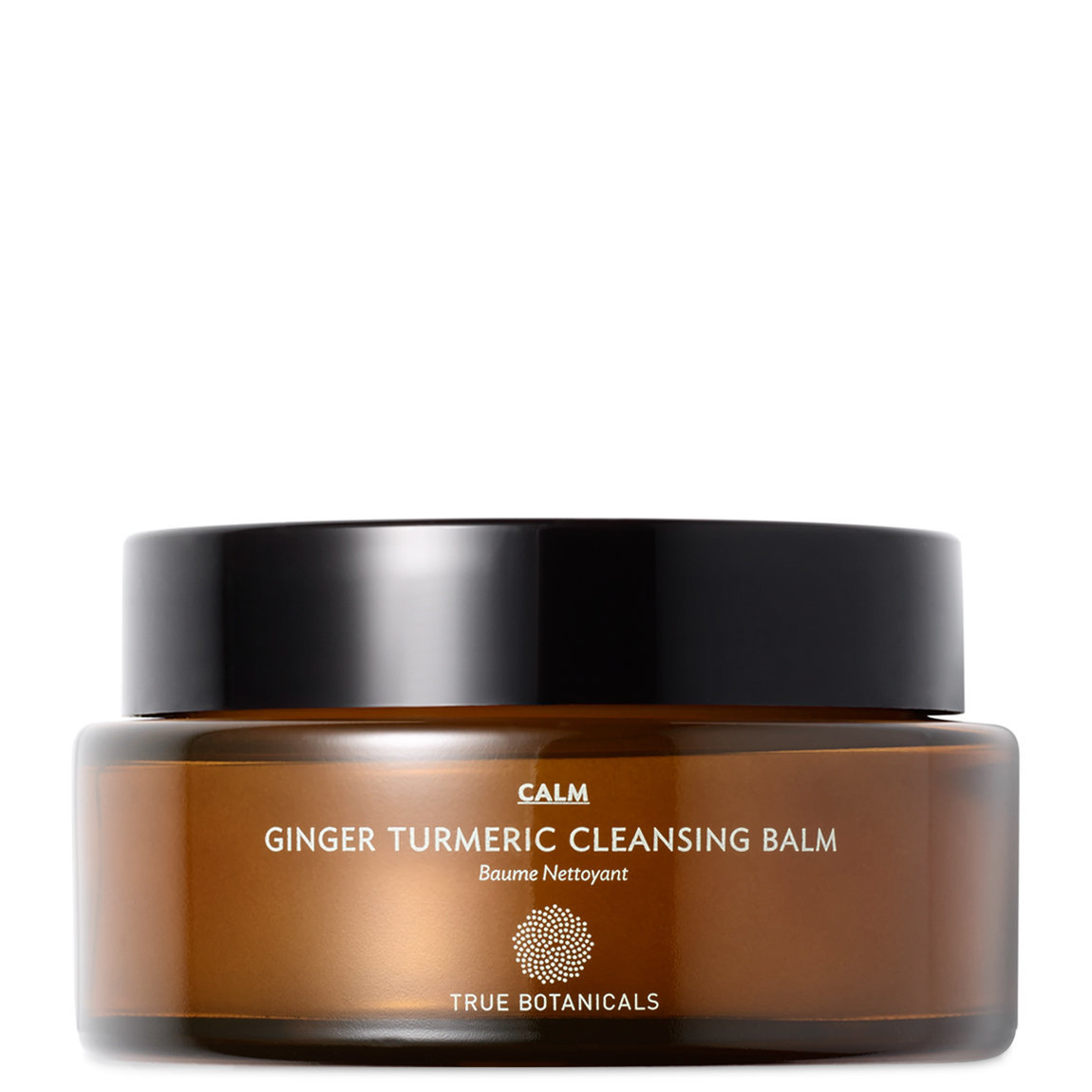 True Botanicals CALM Ginger Turmeric Cleansing Balm alternative view 1 - product swatch.