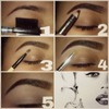how i do my brows.