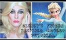 Disney's Frozen Inspired Drag Queen Makeup Transformation
