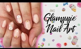 Glamsusie 3D Nail Charms   Review & Gel Tutorial ♡