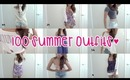 100 Summer Outfits (300th Video)