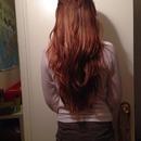 My current hair length.
