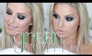Olive Green Smokey Eyes ♡ GRWM Shaaanxo