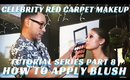 How to Apply Blush & Highlight Tutorial | Celebrity Red Carpet Makeup Series pt. 8- mathias4makeup
