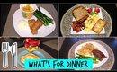 WHAT'S FOR DINNER | 10 DINNER IDEAS (SINGLE MOM)