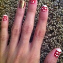 Christmas nails! ⛄