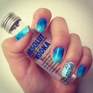 Hawaiian Sea Inspired Nails! #surf