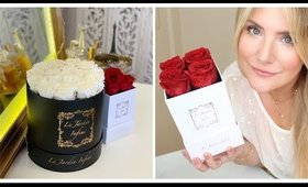 REAL ROSES THAT LAST 1 YEAR ?? LE JARDIN INFINI UNBOXING