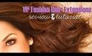 Review: VP Fashion Wavy Hair Extensions + Tutorial