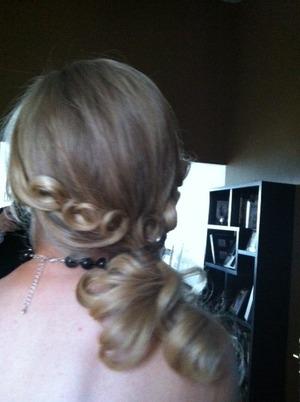 2011 hair back