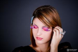 make-up by Georgiana Ionita Foto By Bogdan Suditu