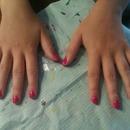 My first gelnails made by myself