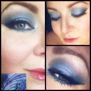 Eyes: 👀 @loraccosmetics shadow primer @nyxcosmetics jumbo eye pencil in milk and deep purple eyeliner @dark_heart_designs #darkmagicelixir and shadows #bonedaddy #joy #audrey #villain @wetnwild_official #cremebrulee #matte #shadow @officialelfcosmetics midnight gel liner @revlon colorstay eyeliner in black #dhd #darkheartdesigns #darkheartdoll #indiecosmetics  Brows: 💕 @clinique_us brow shaping taupe @officialelfcosmetics clear brow gel  Face: 👩@officialelfcosmetics primer HD setting powder and HD under eye setting powder @narcissist #laguna #bronzer #orgasm #blush @lauramercier highlight 01 @maybelline  dream lumi concealer in nude chair, age rewind concealer in neutralize and dream fresh BB cream in light/medium  Lips: 👄 @nyxcosmetics #buttergloss #cremebrulee #butterlipstick #popsexplosive @vlongocosmetics lip and cheek gel stain in #liquidkiss