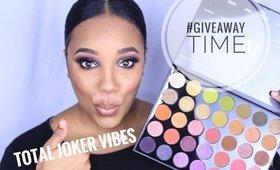 #GIVEAWAY!!!!! Morphe Boss Mood 35M Palette   Total Joker Vibes Cerca 2019   leiydbeauty