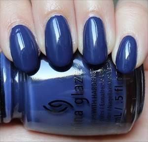 See my in-depth review & more swatches here: http://www.swatchandlearn.com/china-glaze-queen-b-swatches-review/