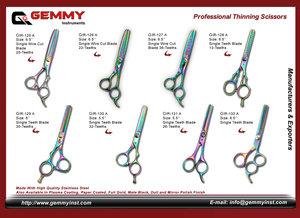 Manufacturers and Exporters of All kinds of Barber Scissor, Razor Edge Barber Scissors, Hairdressing Scissor, Professional Hair Cutting Scissor, Pet Grooming Scissor, Super Cut Scissor, Thinning Scissor,