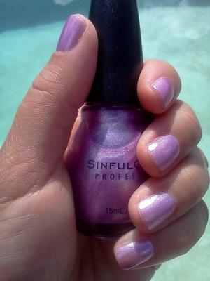 Sinful Colors Purple Diamond 102