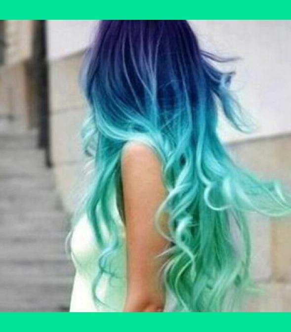 Blue And Aqua Hair Dye Giulia S S Photo Beautylish
