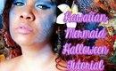 Hawaiian Mermaid Halloween Tutorial