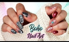 Boho Nails | Stamping Nail Art ♡
