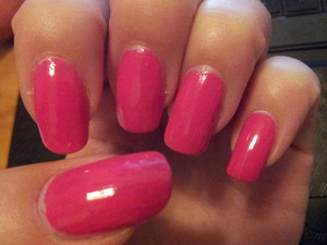Bright pink.. summer is coming!