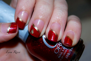 Simple Valentines Day Nails
