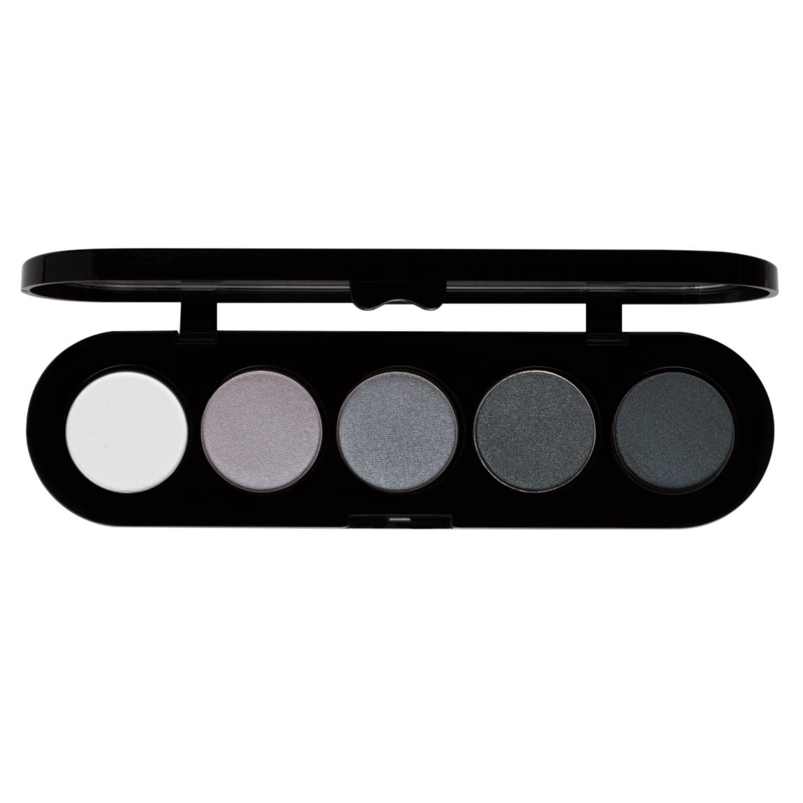 Make-Up Atelier Palette Eye Shadows T12 Black and White Tones alternative view 1 - product swatch.
