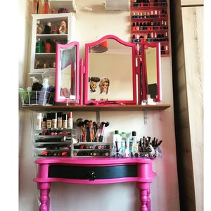 Just finished organising my makeup .. What do you think guys X