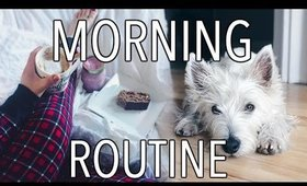 MORNING ROUTINE: WINTER 2017 | CarolaneCP
