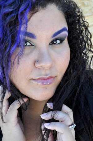Purple brows yeya!
