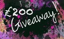 £200 GIVEAWAY!