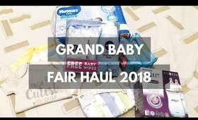 Grand Baby Fair 2018 Haul | Team Montes