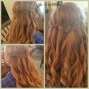 Prom Hair! Waterfall Braid!