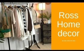ROSS  HOME DECOR HAUL- DECORATE WITH ME