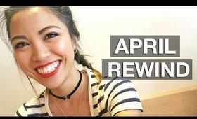 VLOG: APRIL REWIND | yummiebitez