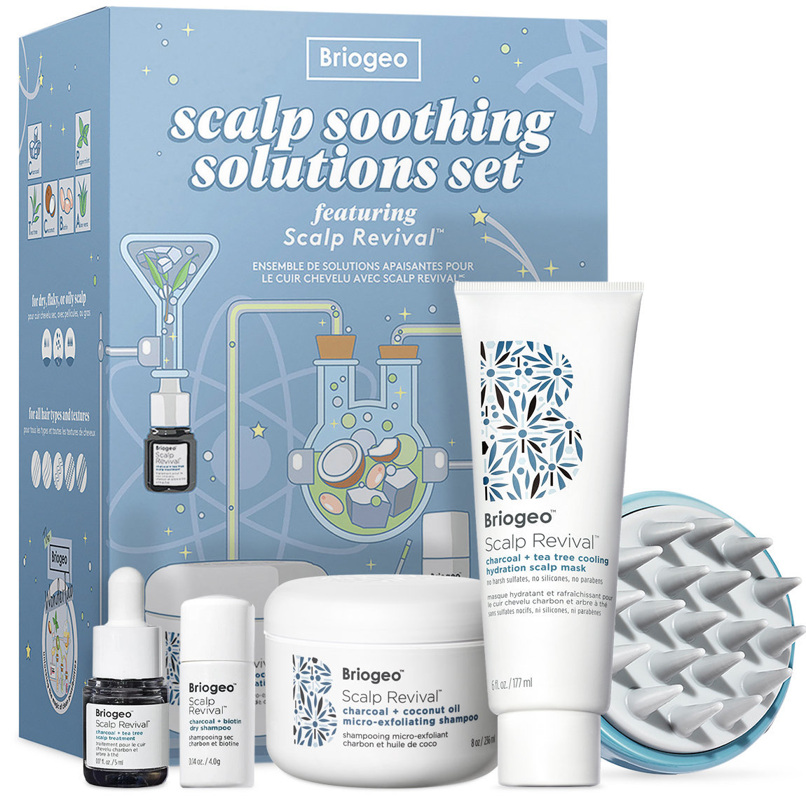 Briogeo Scalp Revival™ Soothing Solutions Value Set for Oily, Itchy + Dry Scalp alternative view 1 - product swatch.